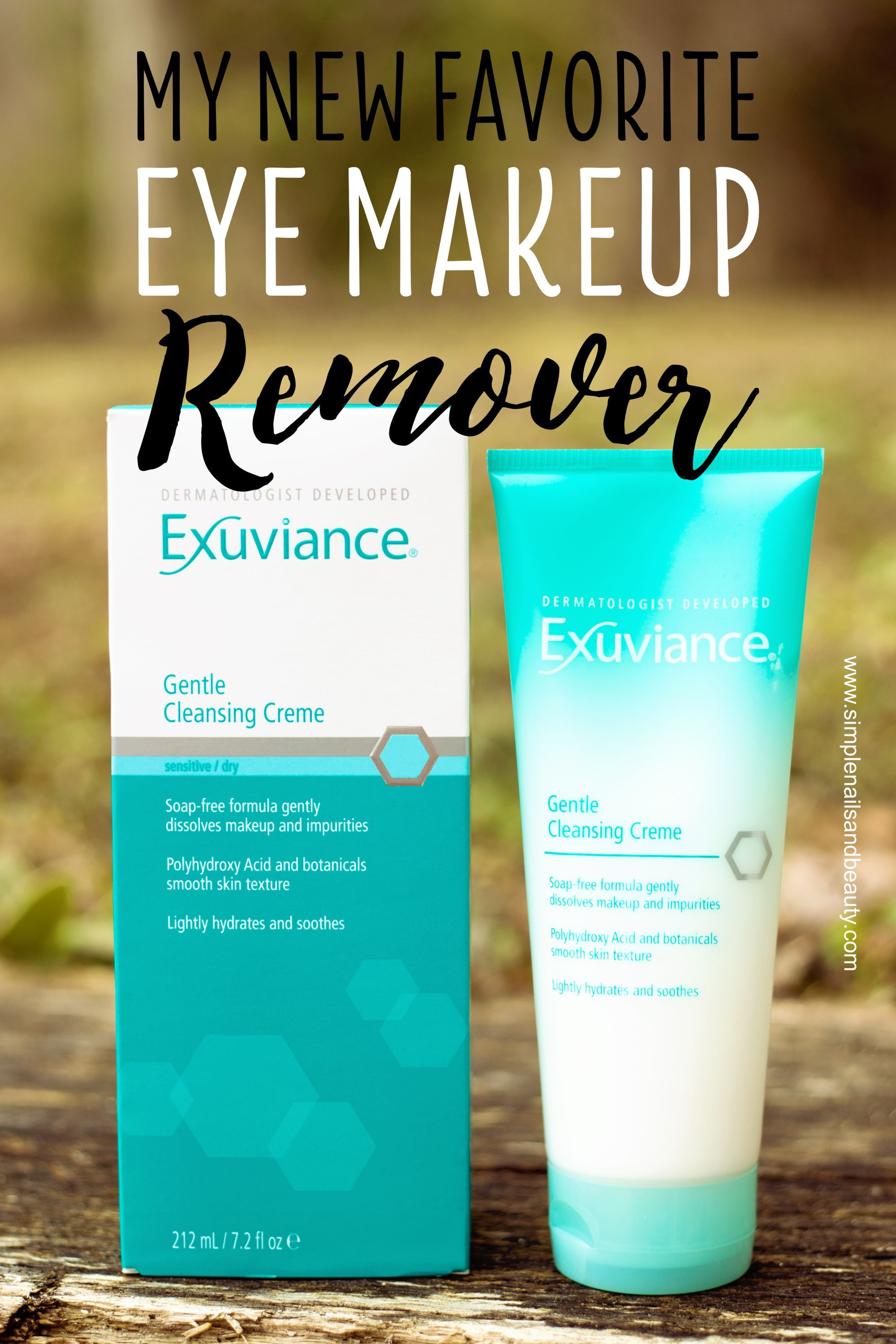 Exuviance Gentle Cleansing Creme My Ultimate Eye Makeup Remover Cleansing Creme Gentle Cleanse Eye Makeup Remover