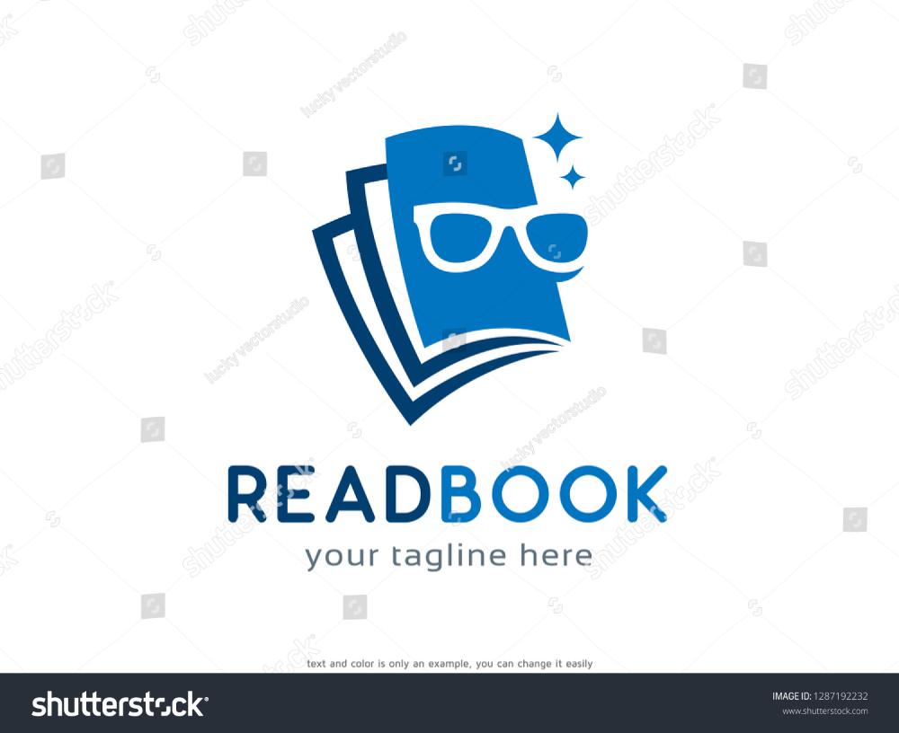 Read Book Logo Template Design Vector Stock Image Download Now Book Logo Template Design Logo Templates