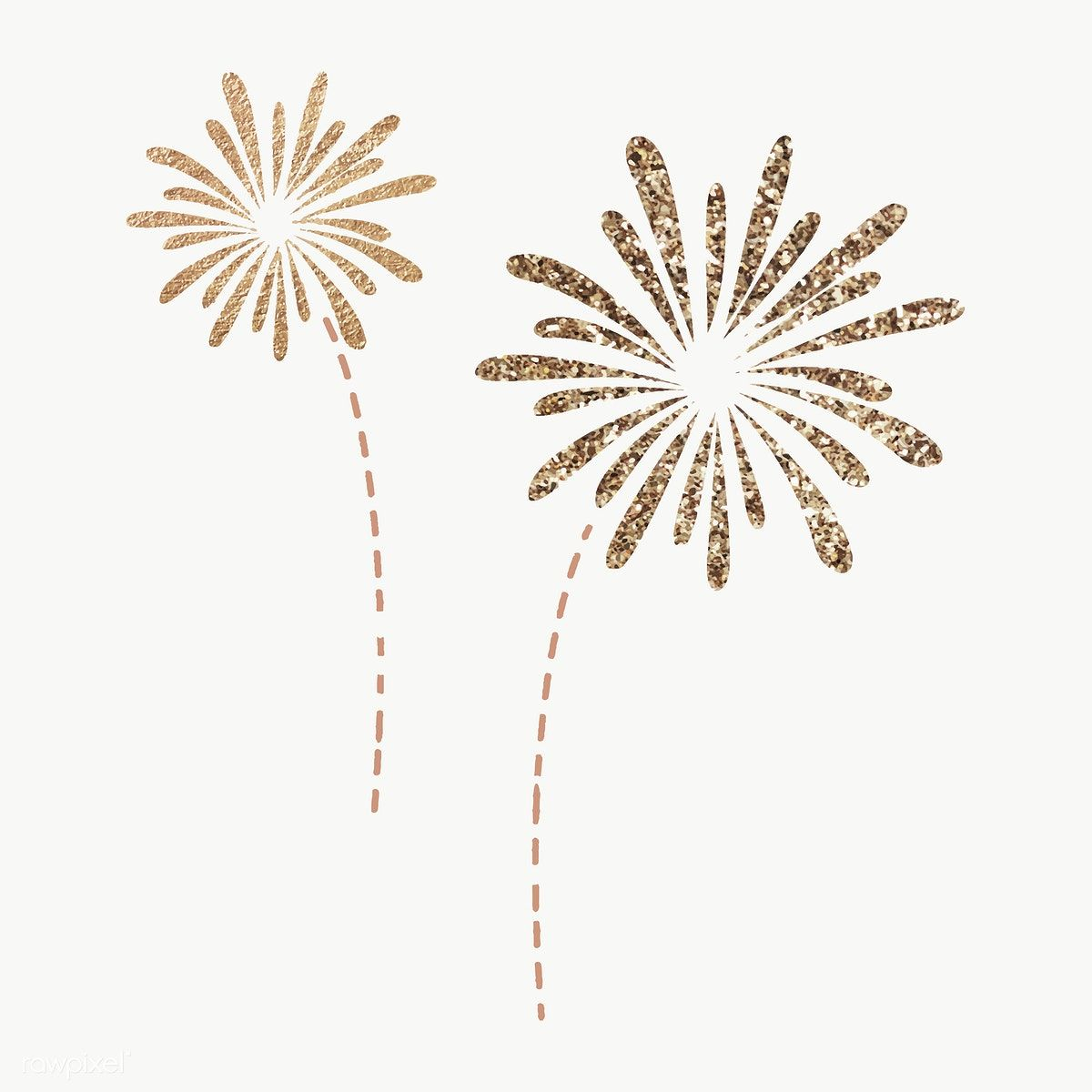 New Year Fireworks Doodle On Transparent Free Image By Rawpixel Com Marinemynt Fireworks Images New Year Fireworks Fireworks