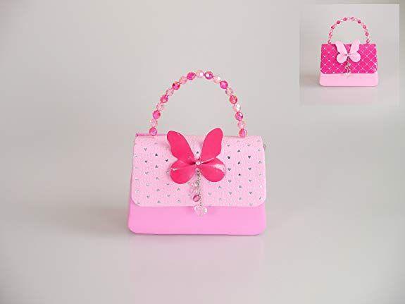 11d1d4cf74c95 ピンクミニスター バタフライ ショルダー パーティーバッグ (ラージサイズ) 2WAY ポシェット キッズ カバン 女の子