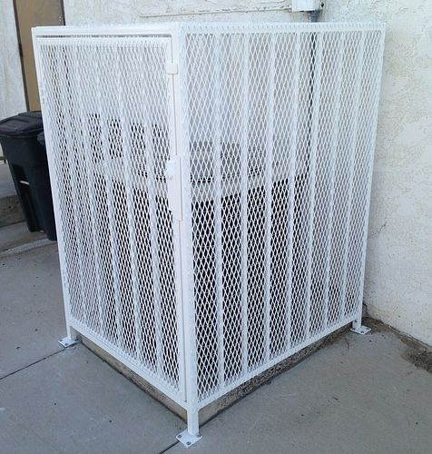 Ac Security Cage Residential Home Decor Iron