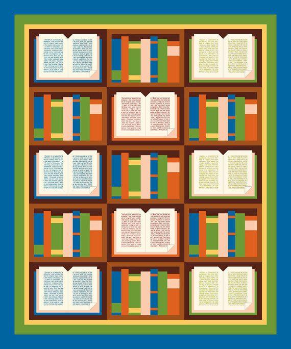 Open book patchwork quilt block pattern block patterns for Patchwork quilt book