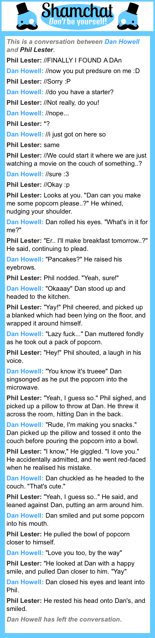 A conversation between Phil Lester and Dan Howell