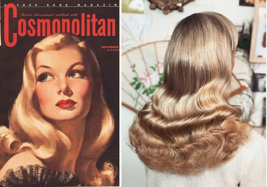 Necia S Hairstyling On Instagram Long Hair Still Works I Get A Lot Of People Asking About 1940s Long Hair Styles 1940s Hairstyles Hairstyles For Thin Hair