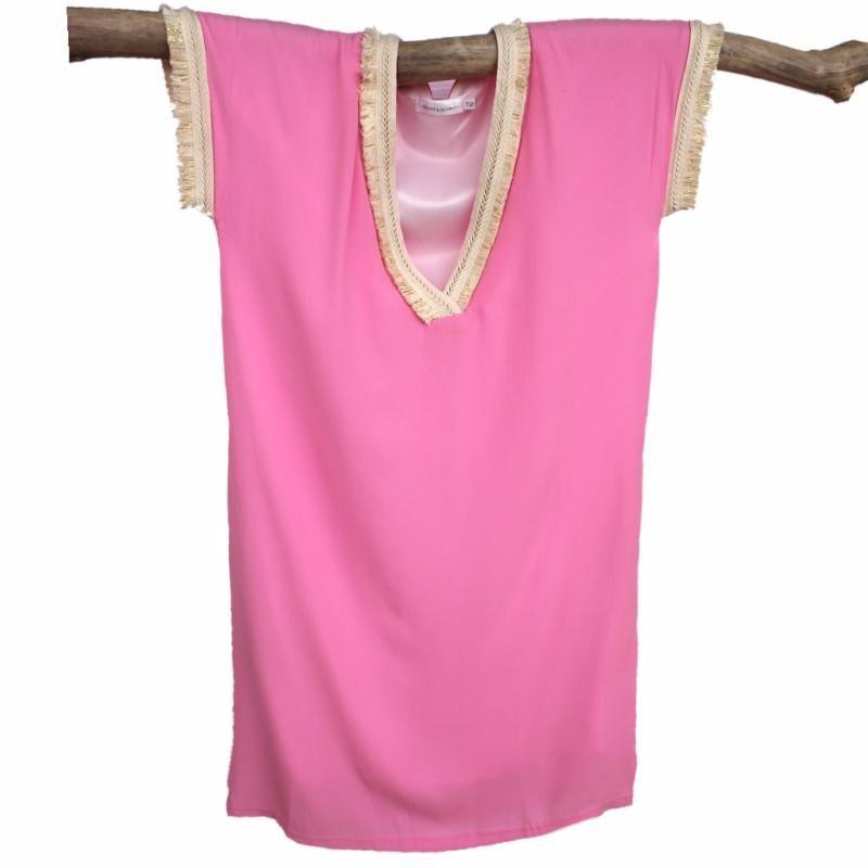 robe boheme dentelle bohemian gypsy rose pink femme. Black Bedroom Furniture Sets. Home Design Ideas
