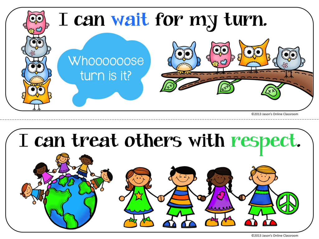 Preschool Classroom Rules Page2