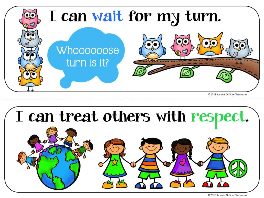 Preschool Classroom Rules Page2