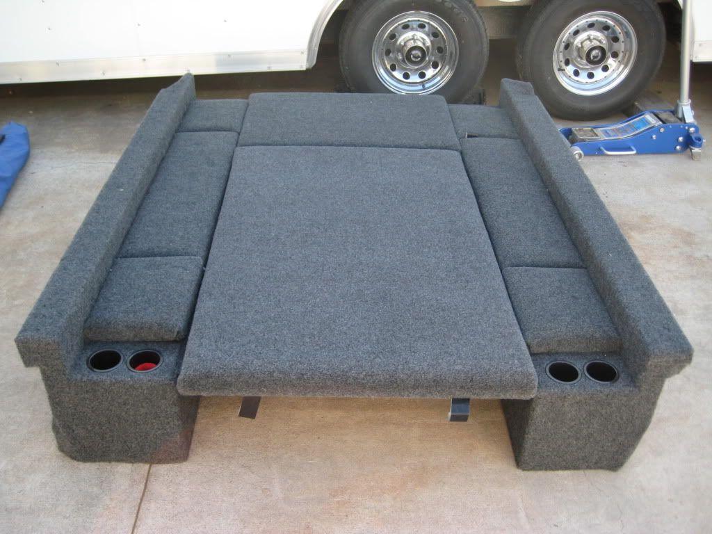 0509 LB Storage/Carpet Kit Truck bed camping