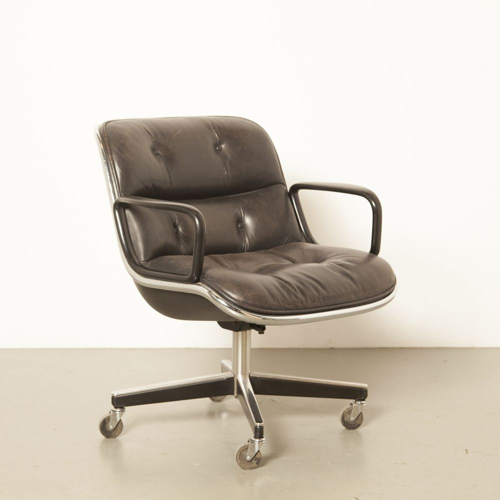 For Sale 8 X Executive Arm Chair By Charles Pollock For Knoll International 1960s Executive Chair Chair Armchair