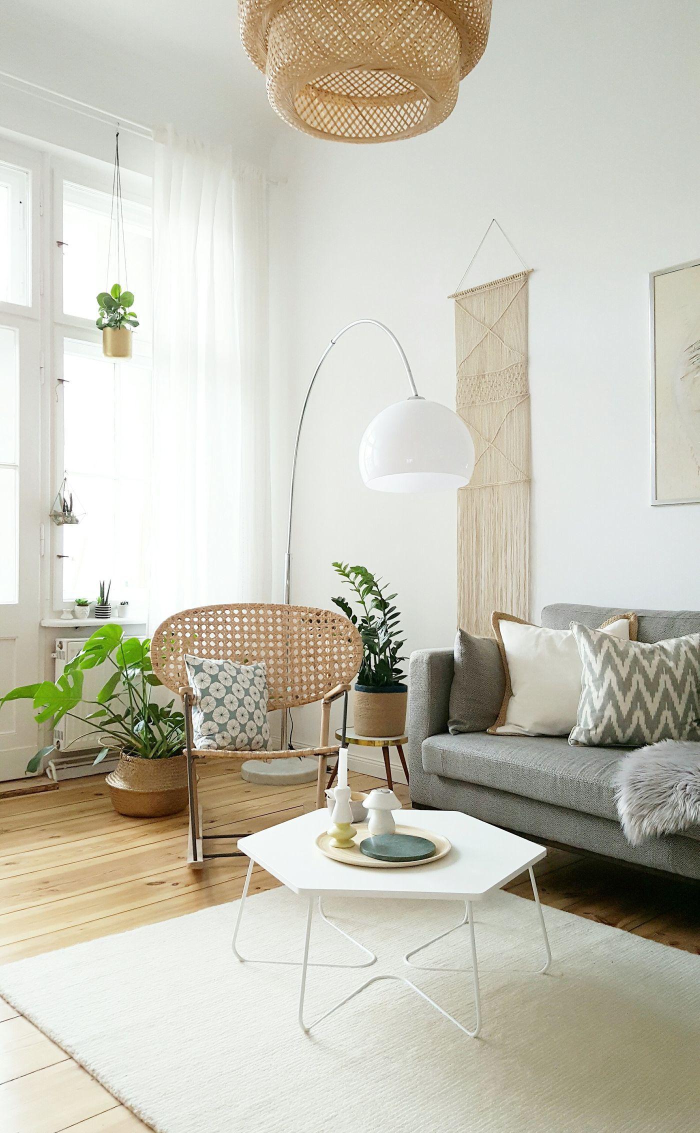 Makramee an der Wand (mit Bildern) | Wohnen, Wohnzimmer ...