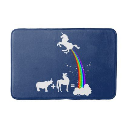 #Unicorn Origin Bathroom Mat   #Bathroom #Accessories #home #living