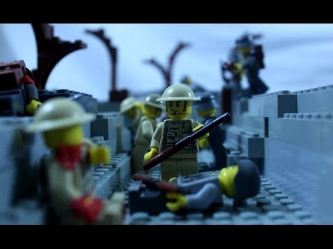 Lego WW1 - The Fourth Battle of Ypres - Battlefield 1 Stop