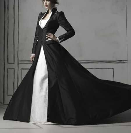 Wedding Dress And Coat - Ocodea.com