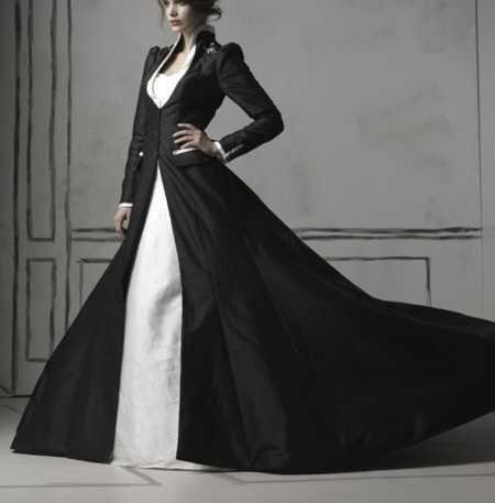 Wedding Dress And Coat - Ocodea.com
