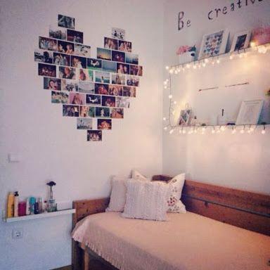 Resultado de imagem para cuartos tumblr para adolescentes for Ideas decoracion habitacion adolescente
