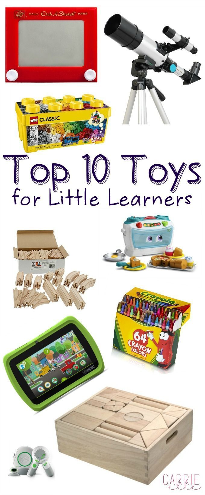 Top 10 Toys for Little Learners