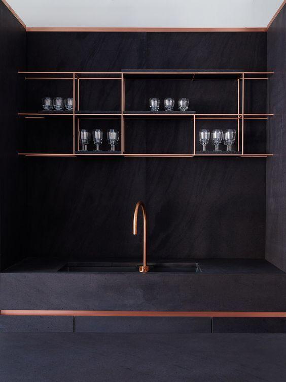 Grifos en cobre para la cocina cuina interior design for Grifos de cobre
