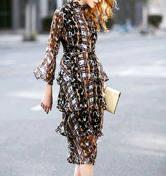 Shalena Flare Sleeve Print Dress http://shalena.ca #women #fashion #onlineshopping #dresses #shoes #coat #love #life #american #canadian #australia #newzealand #uk #england #france #germany #spain  #latestfashion #beautiful #happy #pretty #colorful #sweet #bestquality #shopping #womenfashion  #followforfollow #follow4follow #f4f #ifollowbackalways