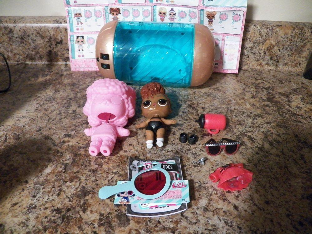 Lol Surprise Dolls Series 4 Eye Spy Under Wraps Thrilla Thriller
