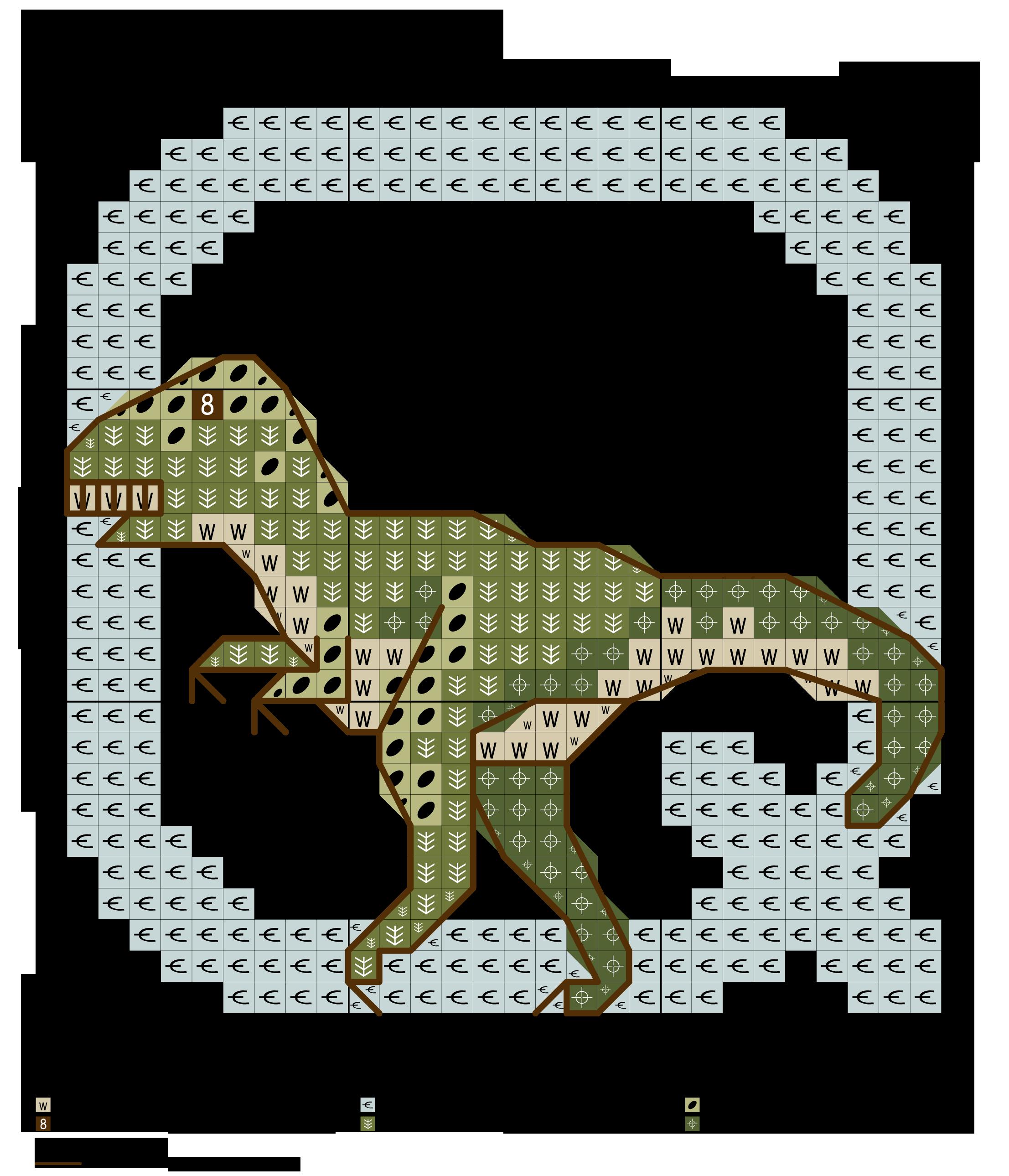 alfabeto dei dinosauri Q