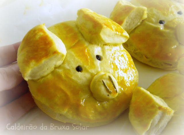 """Piglet Bread/ Pão """"Porquinho"""""""