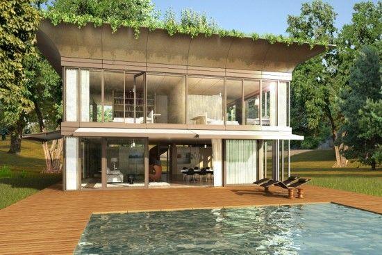 Casas ecol gicas prefabricadas para europa casas - Casa ecologicas prefabricadas ...
