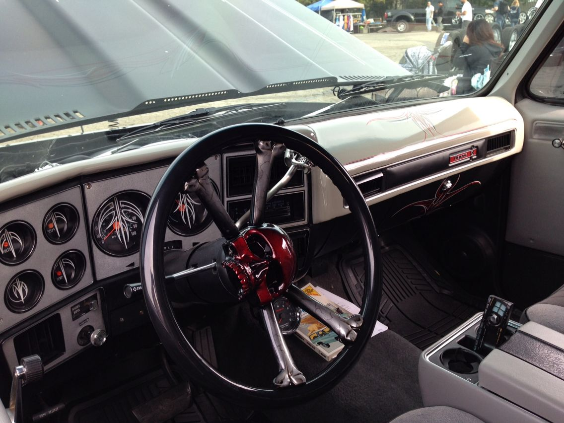 K5 Interior Chevrolet Blazer Truck Interior Car Interior Design