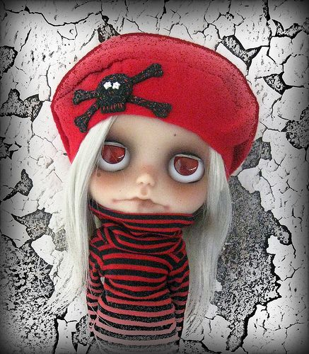 Ouija in one of my fave hats by Pink Anemone, via Flickr
