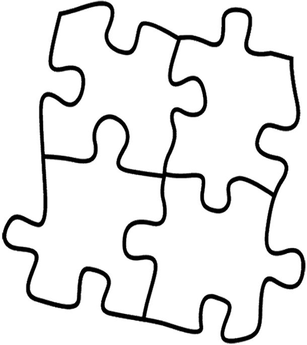 puzzle games that have been arranged in coloring page