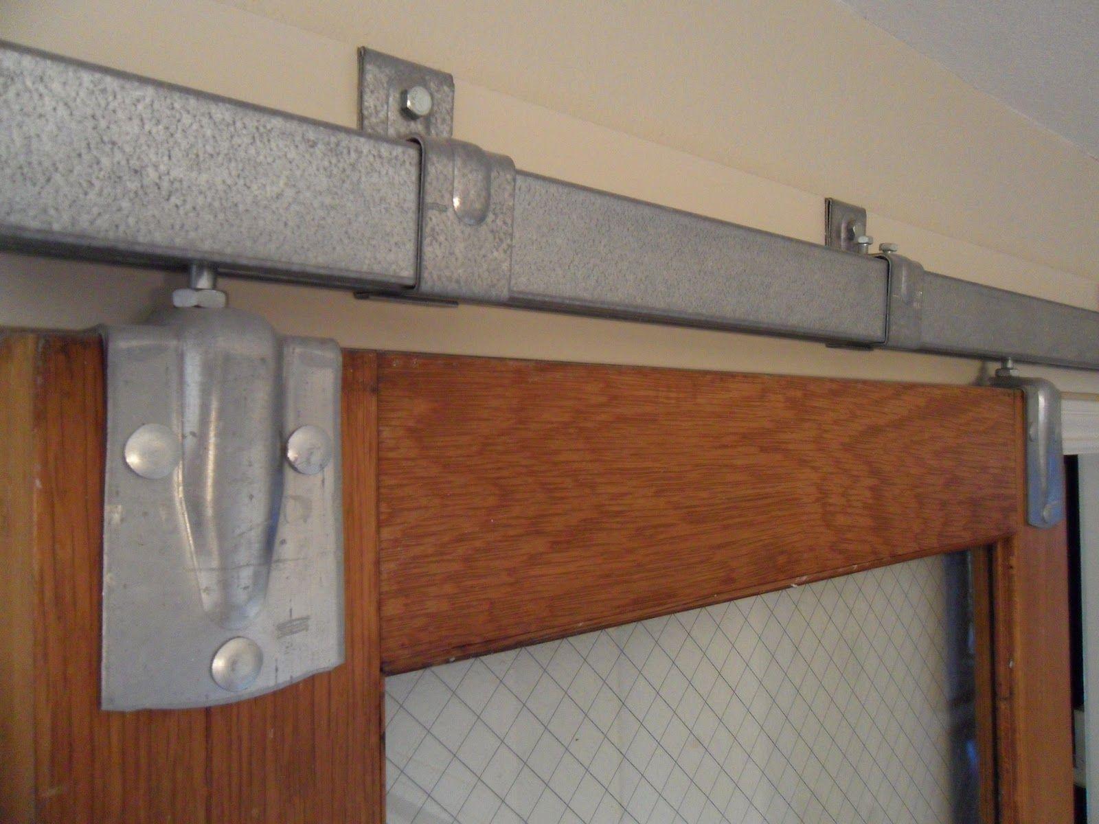 Barn Door Track System Vertical Home Garden Old Barn Doors Door Hardware Diy Bifold Barn Doors