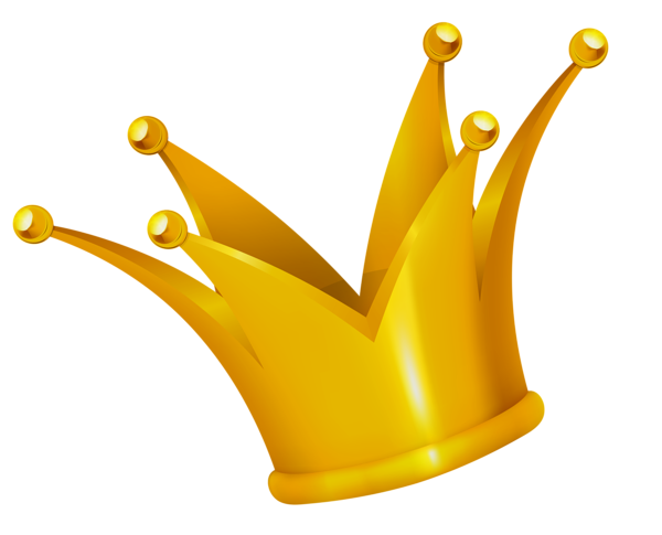 Crown gold. Clipart picture png clip