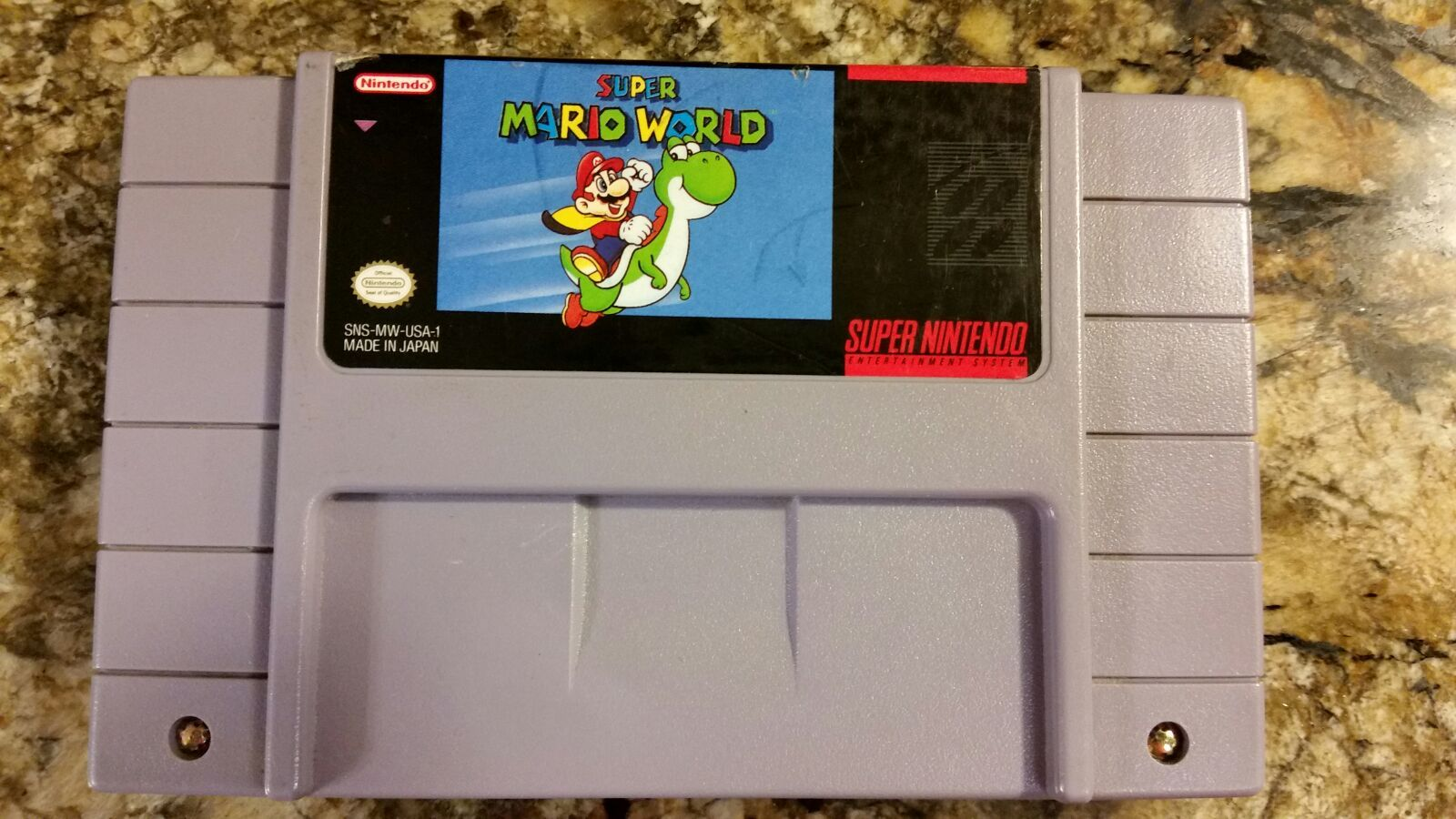 Super Mario World For Super Nintendo Cartridge Is In Good Condition Has Been Tested And Working Great Super Nintendo Super Mario World Nintendo