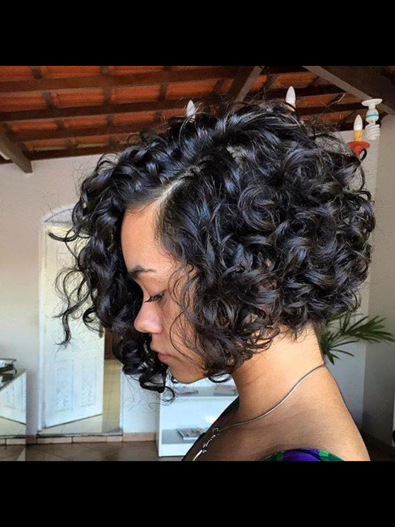 it looks elegant! | hairstyles in 2019 | curly weave styles