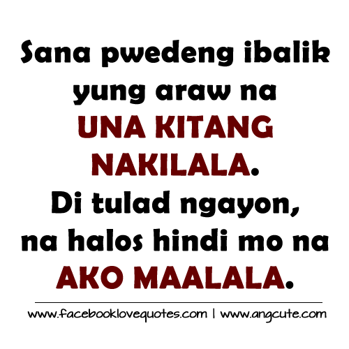Banat Quotes and Patama Tagalog Quotes Collections Please