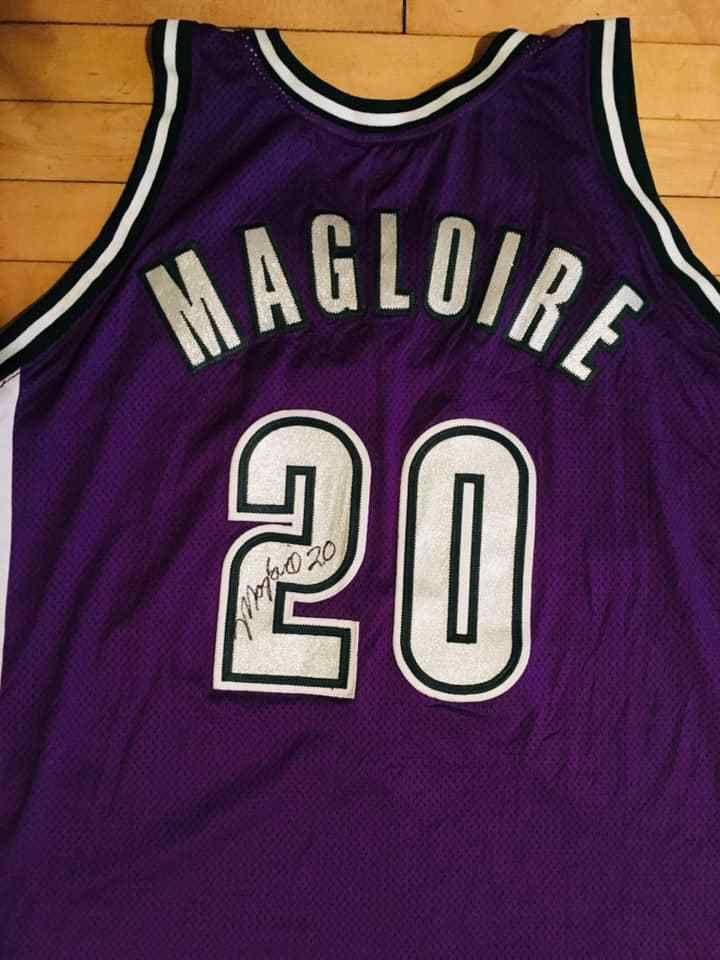 156afbae33b Milwaukee Bucks Autographed Jersey Magloire 20 2004-2005 NBA Team Apparel  USA #MilwaukeeBucks