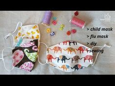 Photo of DIY/ How to make a face mask/ free pattern/ 마스크만들기/ 3D mask/ flu mask/ sewing/ tutorial