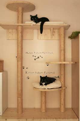 unser neuer kratzbaum ideen pinterest kratzbaum neuer und katzen. Black Bedroom Furniture Sets. Home Design Ideas