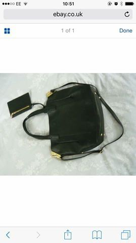 4e91c9e583c1 Hi long shot, lost a black leather oasis bag travelling from Glasgow city  centre to