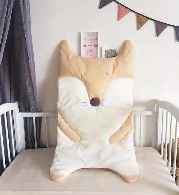 Babay Rabbit Fox Comfy Mat Cushion Carpet For Bedroom