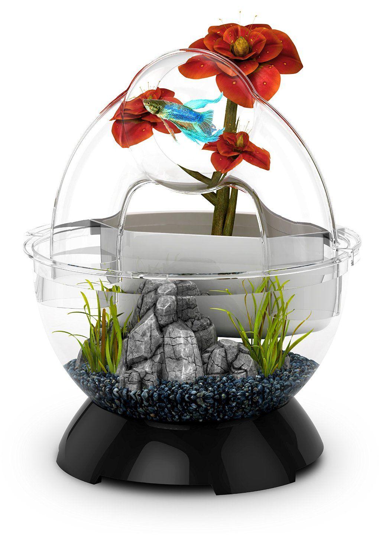 Biobubble wonder bubble tunnel kit black for Poisson betta bocal