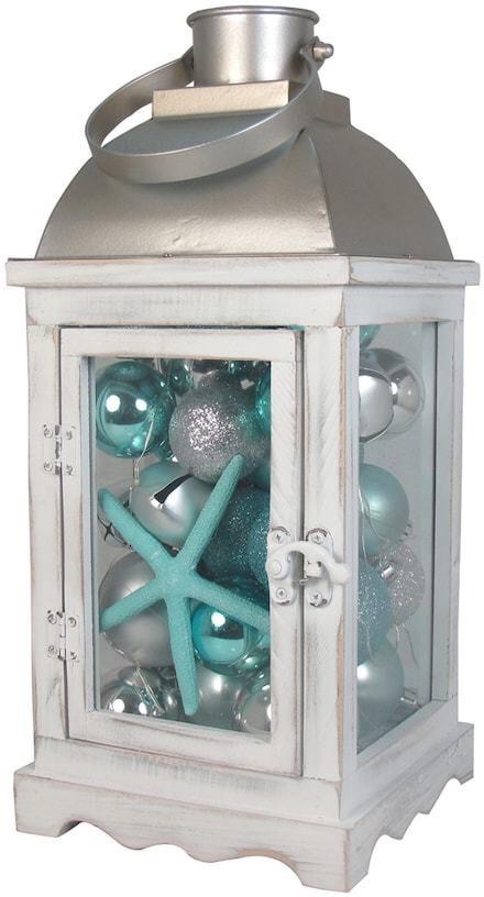 Light Up Coastal Lantern Christmas Table Decoration Sponsored