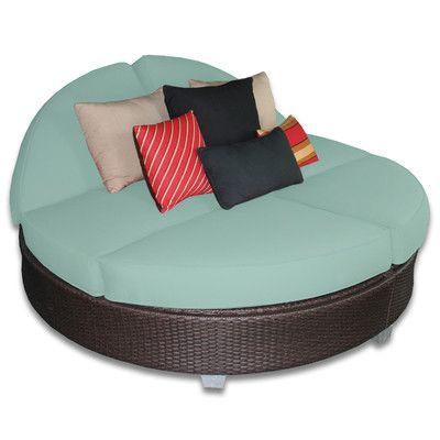 Stupendous Patio Heaven Signature Round Double Chaise Lounge Products Beatyapartments Chair Design Images Beatyapartmentscom