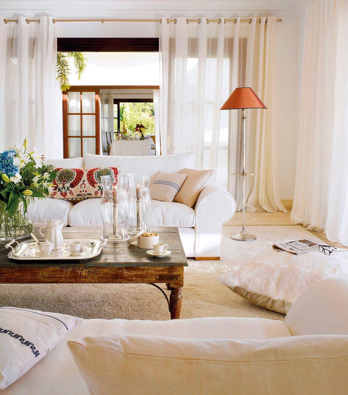 a favor del sof blanco elmueblecom salones