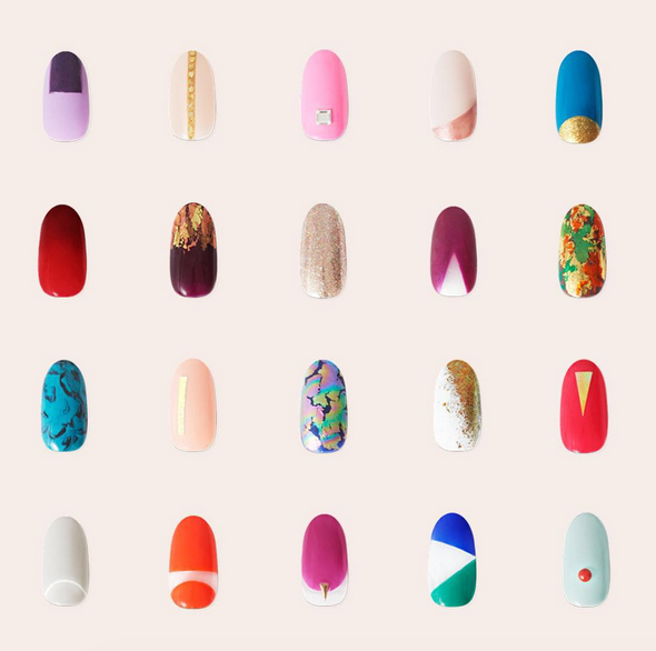 10 amazing nail art designs for a haute—and healthy—manicure ...