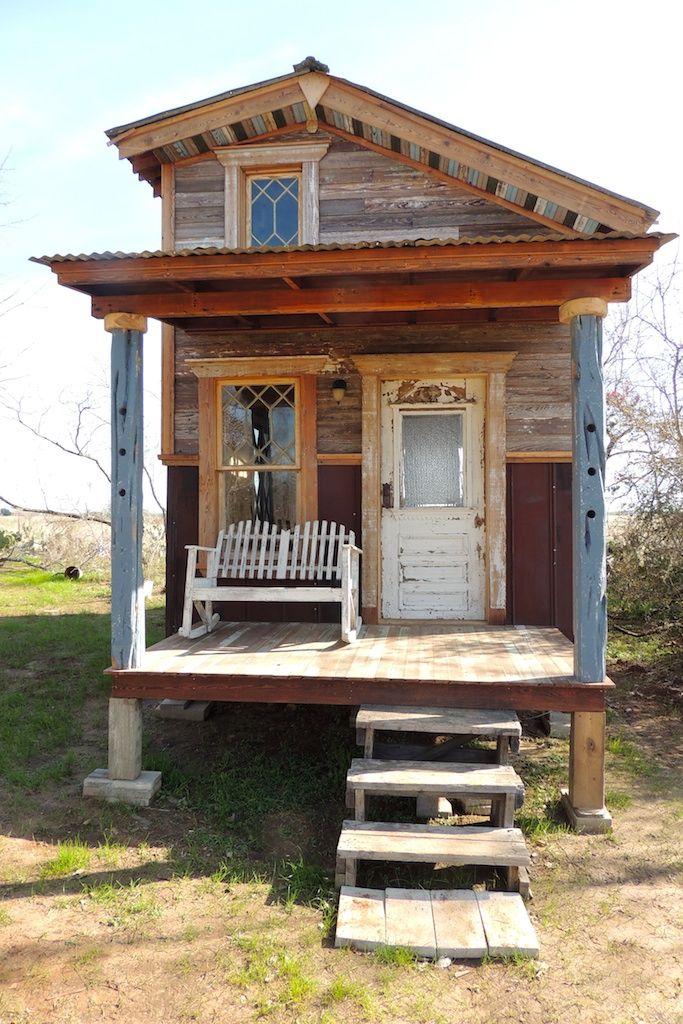 die besten 25 tiny texas houses ideen auf pinterest kleine h tten winzige hausau enr der und. Black Bedroom Furniture Sets. Home Design Ideas
