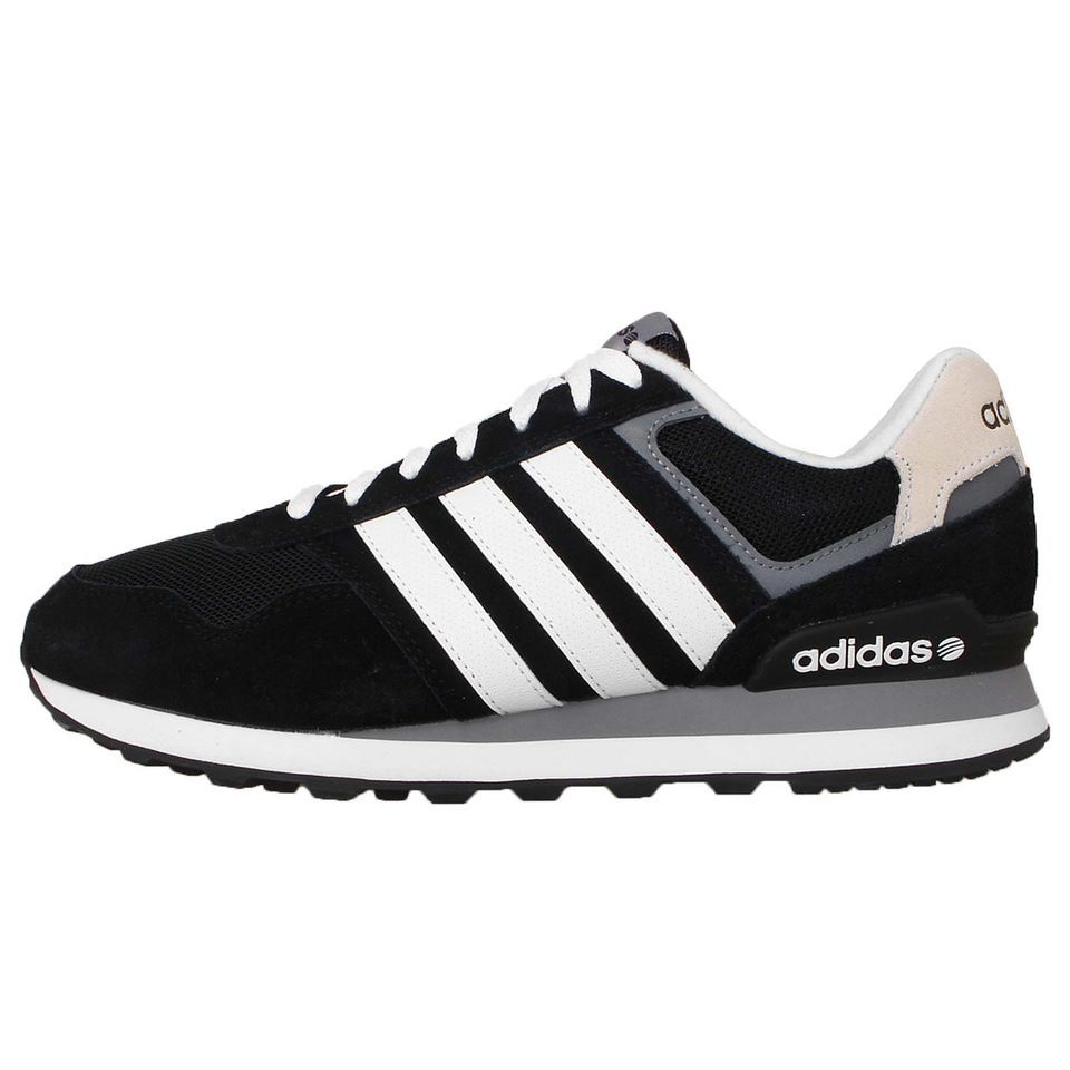 Adidas 10K Black White Grey Neo Label 2015 Fashion Runner Mens Casual Shoes  Find full collections