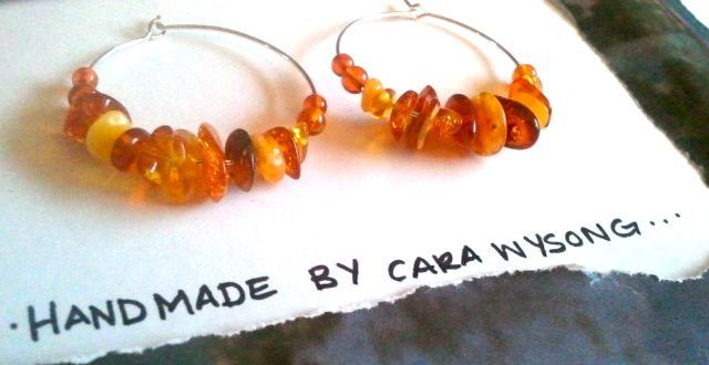 NEW: www.caraconnor.etsy.com  $15.00
