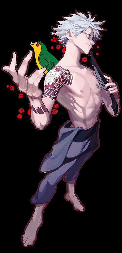 hunteryakuza Character design, Yakuza anime, Anime