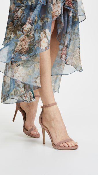 Sam Edelman Women's Ariella Suede High-Heel Ankle Strap Sandals 2k2NEa