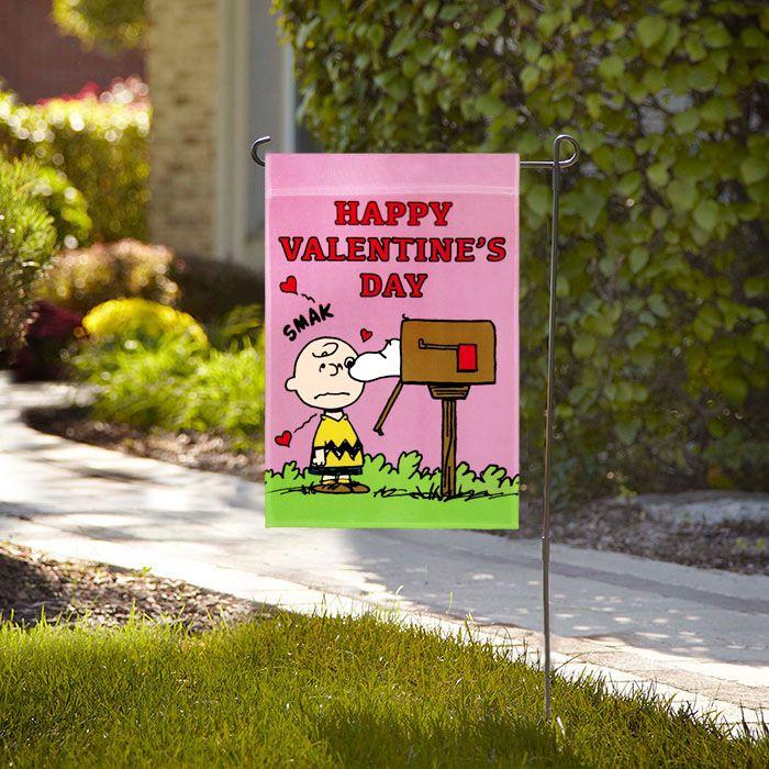 Ordinaire Peanuts Happy Valentineu0027s Day Garden Flag